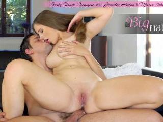 Busty Blonde Creampie - S3:E11