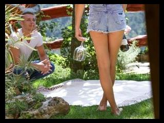 Tip-Toeing in the Garden