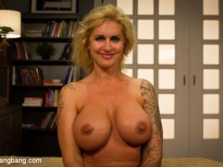 Wet Hot American Stepmom: MILF/COUGAR gangbanged b