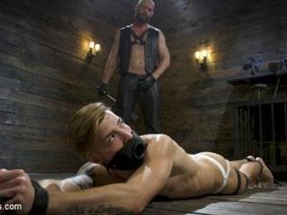 Master Samson Brutally Trains Clean Cut Jock Casey