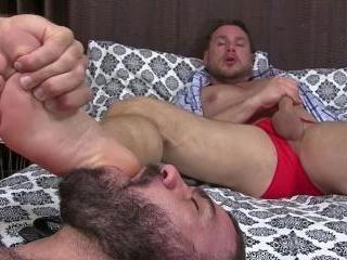 Hans & Ricky\'s Foot Fetish Romance - Hans