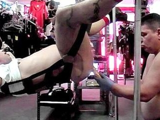 Lycan Ties Up & Blows Slave Bare - Lycan & Slave B
