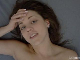 Czech Teen Reaching Pussy Orgasm