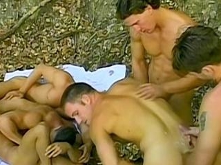 Uncut Jocks In The Woods! - Fernando Nielsen & Gab