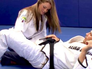 The judo teacher also gives her great fucks