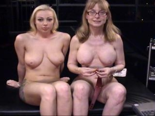 Nina hartley and Adrianna Nicole