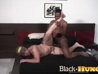 Ryan Fucks JD Daniels Massive Black Cock
