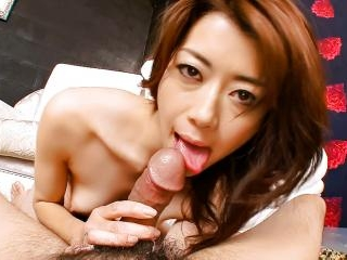Horny Maki rubs up and down on a dick with her fur