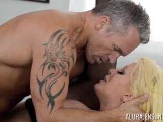 Alura Jenson and Her Huge Tits Swallows Marcus Lon