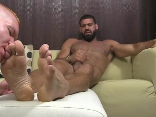 New Boss Ricky\'s Feet Worshiped - Ricky