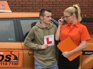 Exam Failure Leads To Hot Car Sex