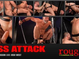 Ass Attack: Scene 3: Josh West & Thor Larsson