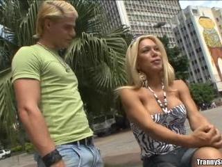 Blonde Temptation