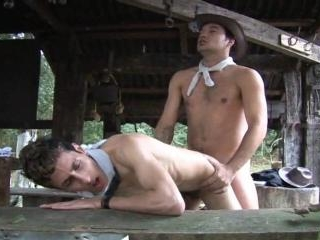 Latino Barebacking Barn Fuck