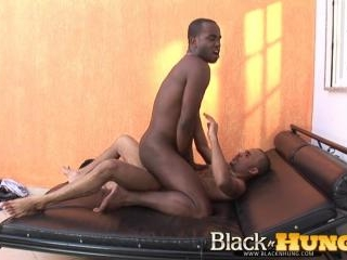 Riding Wild on a Big Black Cock
