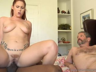Edyn Blair\'s Husband Watches Her Get Filled By Bla