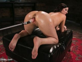Fetish Queen Cherry Torn Fucked with Huge Dildos a