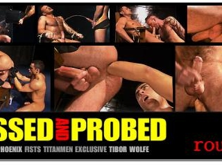 Pissed and Probed: Scene 2: Tibor Wolfe & Tristan