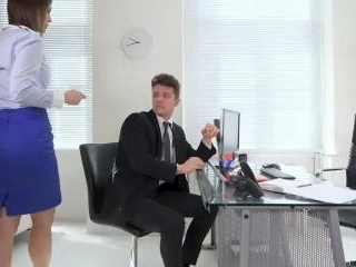 Squirting At The Office