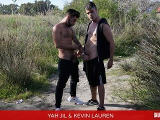 Kevin Lauren and Yahi Jil