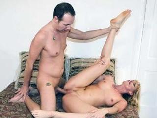 Hot Mature Blonde Darryl Hanah Sucking Off a Cock