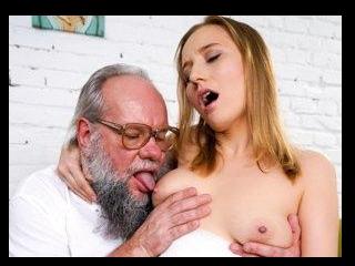 Kiki\'s Fun With A Horny Old Man