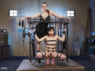 Scared Tough Electroslut Comes Hard on Electricity
