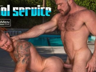 Pool Service: Liam Knox gets serviced by Jack Vidr