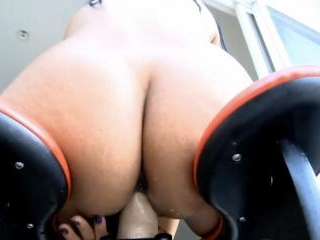 Rocking chair dildo action starring super hot Priy