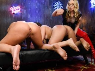 Strip Poker: Three Anal Whores Go All In