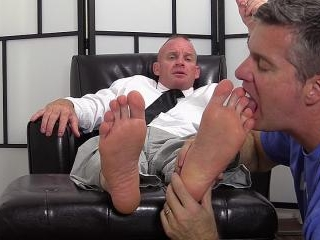 Dean Dev Michaels\' Feet & Socks Worshiped