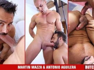 Martin Mazza, Antonio Aguilera