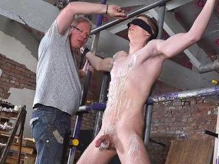 Fit New Boy Billy Gets Used - Billy Rock & Sebasti