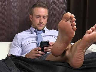 Kenny\'s Slave Serves His Socks & Feet - Kenny
