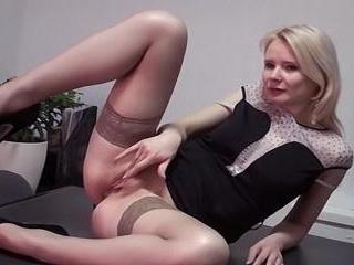 Eva Stoulen Takes Artin\'s Dick On A Desk - Eva Sto