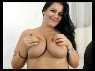 Anissa Jolie Natural Size 38-G Tits Rides a Huge C