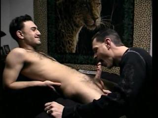 Straight Paulie Tastes Cock