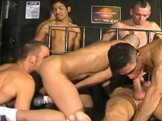 8 Man Sex Orgy (Part 1)