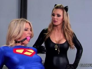 Amanda Tate and Tanya Tate cosplay sex battle