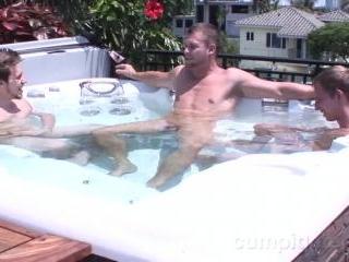 Hayden Richards, Luke Whyte with Marc Summers