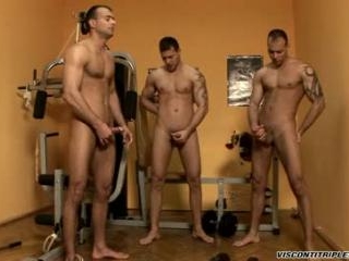 Gym Threesome Solo