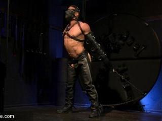 Larkin\'s Load: Ricky Larkin Bound in Leather, Tick