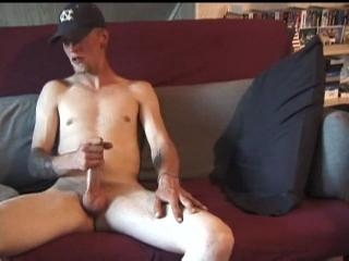 Amateur Brandon Stroking Dick