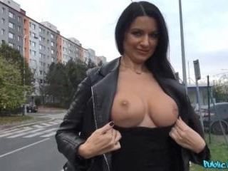 MILF Loses Handbag And Her Panties