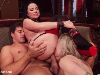 Submissive Secretary Anal Trained By Jealous Wife