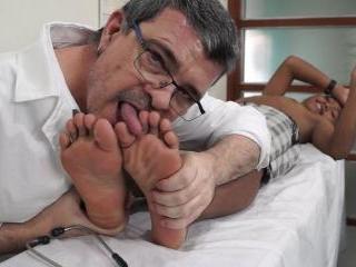 Russels Feet Exam