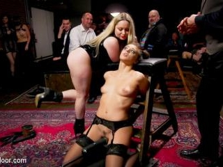 Big-Titted Anal Slave Rewarded & Fisted For Traini