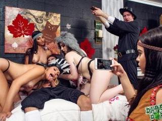 Dorm Room Fucksgiving