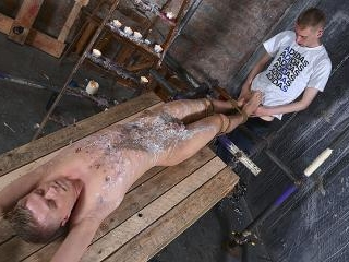 New Boy Used For A Foot Wank - Chris Jansen & Asht