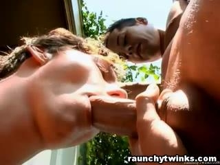 Twinks Fucking Outdoors